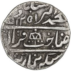 DHOLPUR: Kirat Singh, 1806-1837, AR rupee (11.04g), Gohad, AH1251 year 30. VF-EF