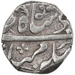 GWALIOR: MANDASOR: Mahadji Rao, 1761-1794, AR rupee (11.05g), Dar al-Salam Mandasor, DM. EF