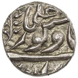 JODHPUR: Jaswant Singh, 1873-1895, AR 1/8 rupee (1.46g), Jodhpur, ND. UNC