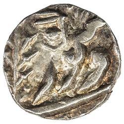 JODHPUR: Jaswant Singh, 1873-1895, AR 1/8 rupee (1.38g), Jodhpur, VS(1)950. AU