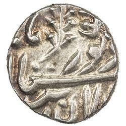 JODHPUR: Jaswant Singh, 1873-1895, AR 1/4 rupee (2.87g), Jodhpur, ND. AU