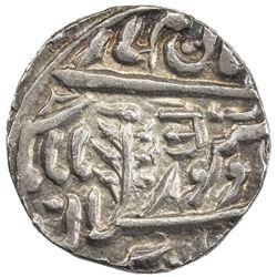 JODHPUR: Jaswant Singh, 1873-1895, AR 1/2 rupee (5.73g), Jodhpur, ND. AU