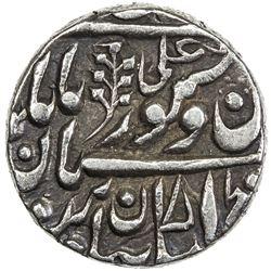 JODHPUR: Jaswant Singh, 1873-1895, AR 1/2 rupee (5.65g), Jodhpur, ND. EF