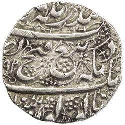 SIKH EMPIRE: AR rupee (8.27g), Peshawar, VS1892//1892. EF
