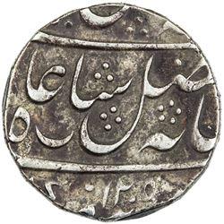 "BENGAL PRESIDENCY: AR rupee (11.62g), ""Murshidabad"", AH1205 year 19. VF"