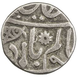BENGAL PRESIDENCY: AR 1/4 rupee (2.68g), Muhammadabad Benares, year 49. F-VF