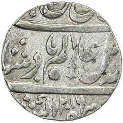 BENGAL PRESIDENCY: AR shumshary rupee (11.18g), Allahabad, AH1216 frozen year 26. EF