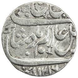 BENGAL PRESIDENCY: AR shumshary rupee (11.17g), Allahabad, AH1216 frozen year 26. VF-EF