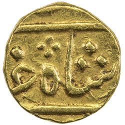 BOMBAY PRESIDENCY: AV rupee (0.75g) (Surat), year 4(6) (frozen). EF