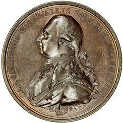 BRITISH INDIA: AE medal, 1792. EF