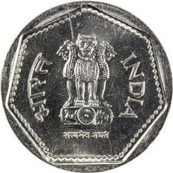 INDIA: Republic, 1 rupee, 1985(L)