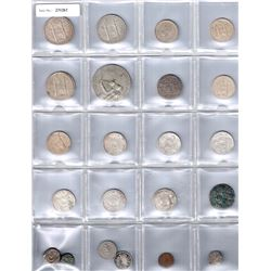 INDIA:LOT of 22 coins
