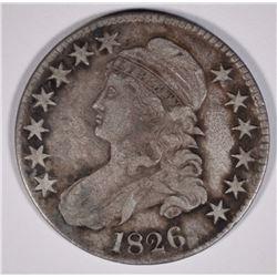 1826 BUST HALF DOLLAR  NICE  VF