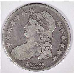 1832 BUST HALF DOLLAR  NICE  FINE
