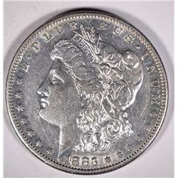1883-S MORGAN DOLLAR  NICE  AU