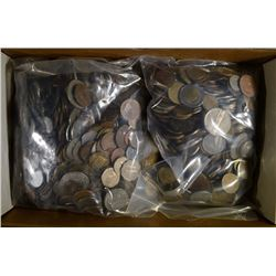 15 Pounds of Well Mixed Foreign Coins.