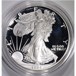 1994 Proof Silver American Eagle.
