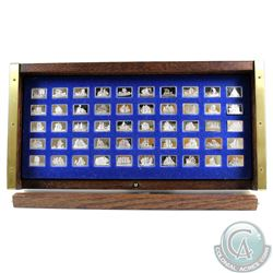 The Great Sailing Ships of History Mini Sterling Silver Miniature Ingot Collection Minted by the Fra