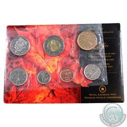 2009 Canada World Money Fair Variety Proof Like Set (envelope lightly worn)