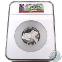 2012P Australia 5oz $8 Koala NGC Certified PF-69 Ultra Cameo First Releases (TAX Exempt)