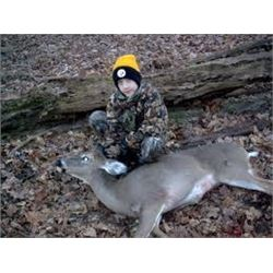 Michigan Deer Hunt for 1 Youth Hunter