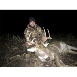 *Kansas – 5 Day Whitetail Deer Hunt for One Hunter
