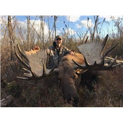 Yukon – 9 Day – Rut Moose Hunt for One Hunter