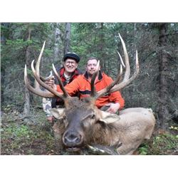 *Alberta – 7 Day – Elk Hunt for One Person