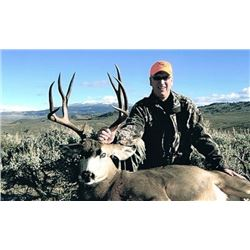 *Wyoming – 5 Day – Muzzleloader Hunt for Mule Deer and Black Bear for One Hunter