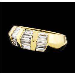 1.00 ctw Diamond Ring - 14KT Yellow