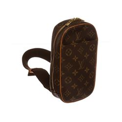 Louis Vuitton Monogram Canvas Leather Gange Crossbody Bag
