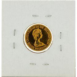 1972 Balwick of Jersey Ten Pounds Gold Coin