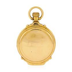 Antique Elgin Pocket Watch - 14KT Rose Gold
