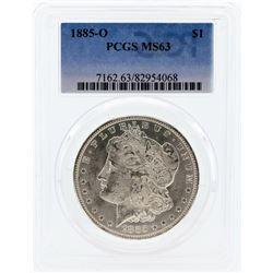 1885-O PCGS MS63 Morgan Silver Dollar