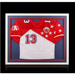 Dan Marino Framed Autographed All-star Jersey