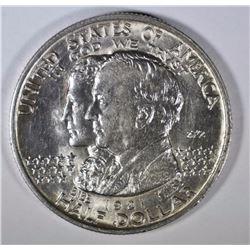 1921 ALABAMA 2X2 COMMEM HALF DOLLAR CH BU