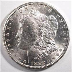 1882-CC MORGAN SILVER DOLLAR, CH BU++