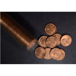 1947-S BU LINCOLN CENT ROLL