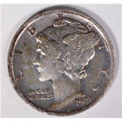 1921 MERCURY DIME  XF