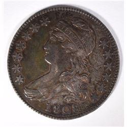 1808 CAPPED BUST HALF DOLLAR CH AU