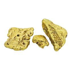 Lot of (3) Alaskan Gold Nuggets 14.29 Grams