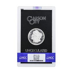 1884-CC $1 Morgan Silver Dollar Coin GSA Hoard NGC MS63DPL