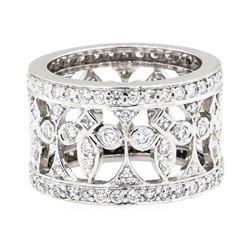 18KT White Gold 1.71ctw Diamond Ring