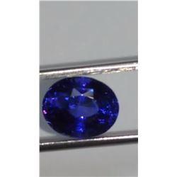 Natural Untreated Royal Blue  Sapphire 5.74 Ct - VVS