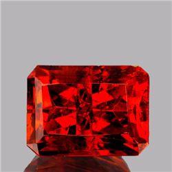 Natural Rare AAA Fire Orange Sphalerite 7.16 Cts - VVS