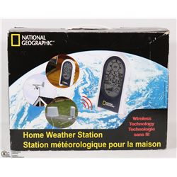 NATIONAL GEOGRAPHIC HOME WEATHER STATION