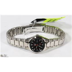 NEW SEIKO LADIES STAINLESS WATCH TAG PRICE $199.00