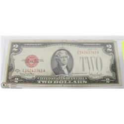 AMERICAN 2 DOLLAR BILL 1928 SERIES