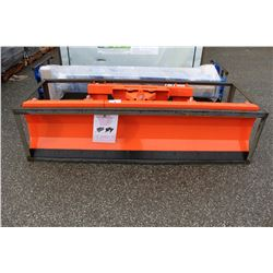 86 INCH HYDRAULIC SKID STEER ATTACHMENT - 86 INCHES  WIDE, 162 POUNDS,  POWER REQUIRED IS 45 TO 60