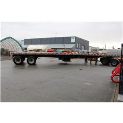 1998 LODE KING 48 FT FLAT DECK COMMERCIAL TRAILER, VIN # 2LDPF4823WA029385, 2 ICBC CLAIMS TOTALING